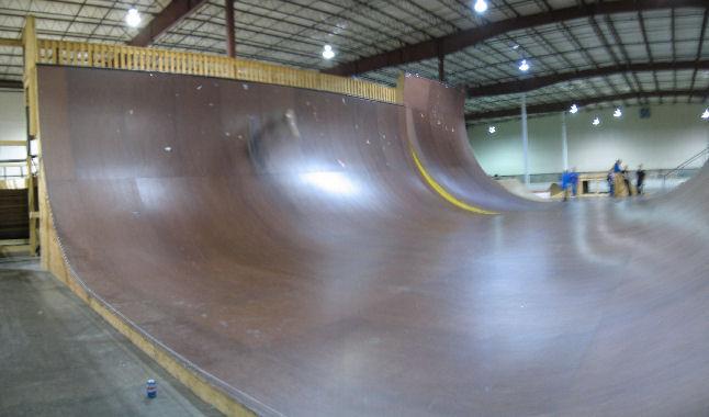 "Academy Skatepark Vista Vert Ramp ""Good Timez"" - YouTube"